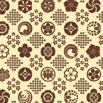 50 pieces of lapping article wrapping paper flower pattern tea half ability size 528mm in height X 750mm in width 49-1706 taka stamp product Sasagawa containing
