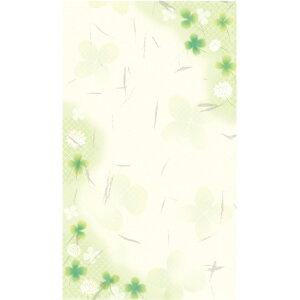 のし袋 和ごころ 五型 白つめ草 5-3751 | ササガワ クローバー よつ葉 四つ葉のクローバー 柄 のし 熨斗 祝儀袋 ご祝儀袋 お祝い お祝い袋 封筒 ぽち袋 ポチ袋 おこづかい袋 おこづかい 誕生日