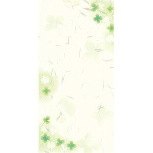 のし袋 和ごころ 万型 白つめ草 5-3761 | ササガワ クローバー よつ葉 四つ葉のクローバー 柄 のし 熨斗 祝儀袋 ご祝儀袋 お祝い お祝い袋 封筒 ぽち袋 ポチ袋 おこづかい袋 おこづかい 誕生日