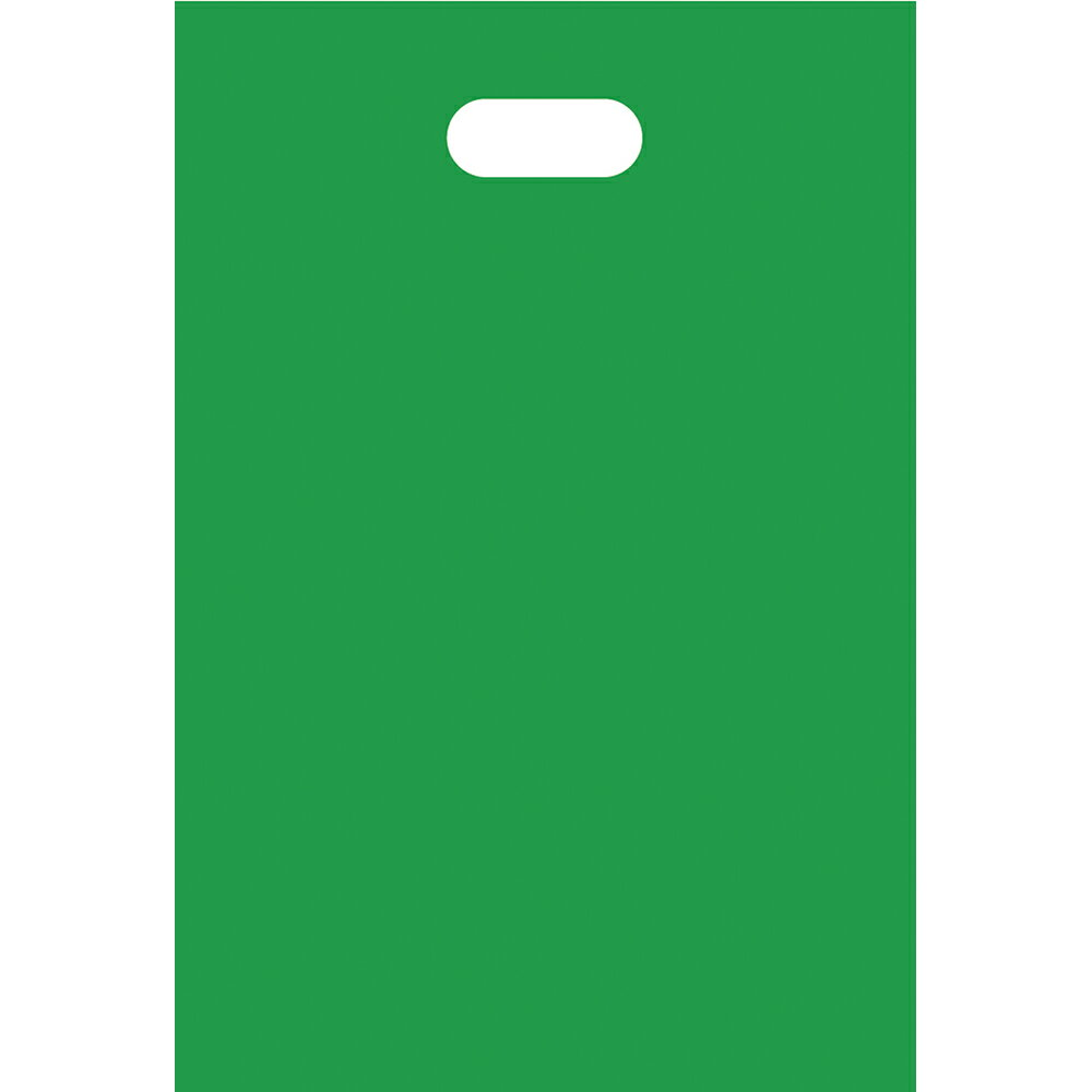 HDカラーポリ グリーン 19-28 50-1451 | レジ袋 レジバック ポリ袋 ビニール袋 バッグ bag スーパー ドラッグストア 店舗 業務用 ギフト プレゼント 梱包 包装 ラッピング 買い物 手提げ
