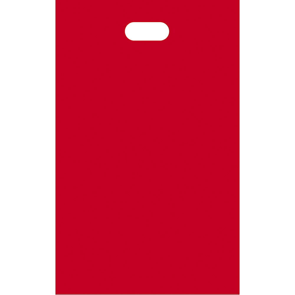 HDカラーポリ アカ SS 50-1750 | レジ袋 レジバック ポリ袋 ビニール袋 バッグ bag スーパー ドラッグストア 店舗 業務用 ギフト プレゼント 梱包 包装 ラッピング 買い物 手提げ