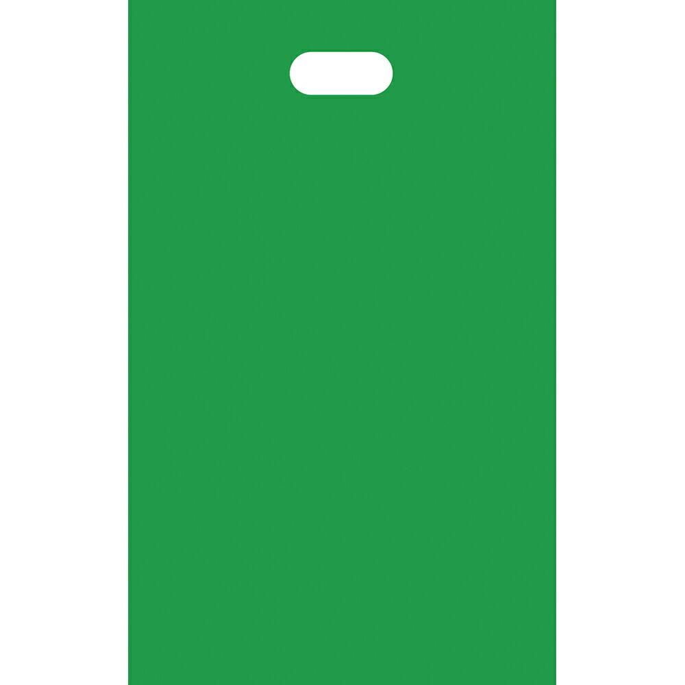 HDカラーポリ グリーン SS 50-1751 | レジ袋 レジバック ポリ袋 ビニール袋 バッグ bag スーパー ドラッグストア 店舗 業務用 ギフト プレゼント 梱包 包装 ラッピング 買い物 手提げ