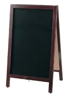 黒板スタンド マーカー用 TBD80-1 42-1867   POP 事務用品 黒板 ブラックボード お洒落 おしゃれ シンプル メニュー 看板 プライス ウェディング ボード スタンド ポスター パネル 木製 店舗 マーカー マジック ペン インク インキ カフェ レストラン
