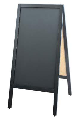 スタンド黒板 TBD70-2 42-1881   POP 事務用品 黒板 ブラックボード お洒落 おしゃれ シンプル メニュー 看板 プライス ウェディング ボード スタンド ポスター パネル スタンド 木製 店舗 チョーク カフェ レストラン