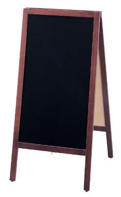 スタンド黒板 TBD70-4 42-1883   POP 事務用品 黒板 ブラックボード お洒落 おしゃれ シンプル メニュー 看板 プライス ウェディング ボード スタンド ポスター パネル スタンド 木製 店舗 マーカー マジック ペン インク インキ カフェ レストラン