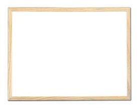 木製白木両面ボード MSWB4508 42-1887 | ホワイトボード おしゃれ 壁掛け マグネット 木製 メニュー ディスプレイ POP用品 ポップ用品 pop ポップ 店舗用品 店舗 事務用品 学校 幼稚園 看板 店舗用