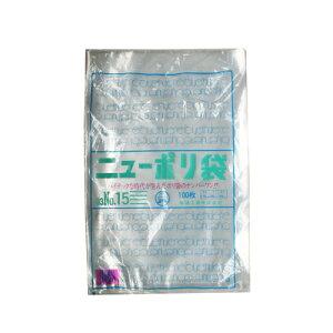 ニューポリ袋03 No.15 42-151 | ポリ袋 ビニール袋 ラッピング 包装 透明 透明袋 ギフト 消耗品 業務用 副資材 梱包 フリマ フリーマケット 販促品