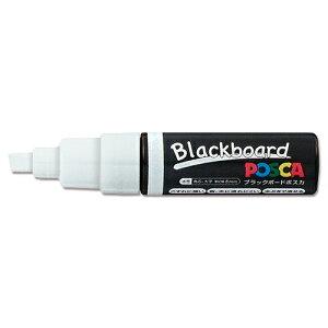 ブラックボードポスカ白 太字 42-657 | POP 事務用品 黒板 ブラックボード お洒落 おしゃれ シンプル メニュー 看板 プライス ウェディング ボード スタンド ポスター パネル スタンド マジック