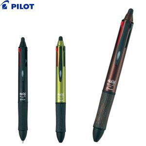 【PILOT】パイロット消せる4色ボールペン 消せるボールペン 消えるボールペン フリクションボール4 ウッド 選べるカラー【0.5mm】