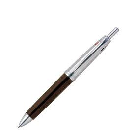 【三菱uni】ピュアモルト オークウッド・プレミアムエディション ウィスキー樽から作った3色0.7mmボールペン+0.5mmシャーペン【送料無料】