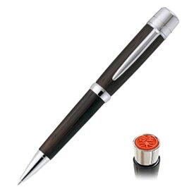 【三菱uni】ネームペン ピュアモルト ウィスキー樽から作った 浸透印付ボールペン【0.8mm】