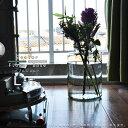 花瓶 丸型 大型 枝物 フラワーベース 北欧 おしゃれバブルジョルト Lサイズ(約18cm丸×30cm) グリーン グレー花瓶 大…