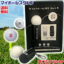 ゴルフボール スタンプ マイボールスタンプ オリジナルタイプ 送料無料 ゴルフボール用はんこ(ゴルフ用品 ゴルフグッ…