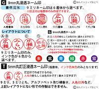 サンリオキャラクターズ・ツインGTキャップレスの印影見本