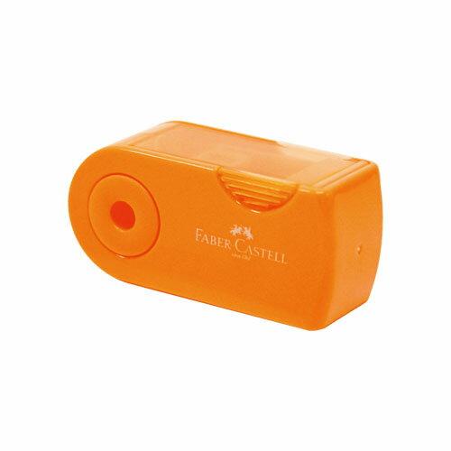 【最大1000円OFFクーポン発行中】shachihata ファーバーカステル 鉛筆削り(角型ミニ) オレンジスタンプ はんこ 5000円以上 送料無料