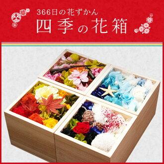 """""""366天的花zukan""""四季的花箱子"""