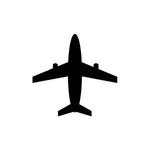 ゴム印/イラストスタンプ 8×8mm【飛行機】E-010[ひこうき/スタンプ/はんこ/判子/ハンコ/ワンポイント 定型 イラスト/かわいい/可愛い/おしゃれ]【メール便配送対応商品】