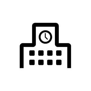 ゴム印/イラストスタンプ 8×8mm【学校】F-016[スタンプ/はんこ/判子/ハンコ/ワンポイント 定型 イラスト/かわいい/可愛い/おしゃれ]【メール便配送対応商品】