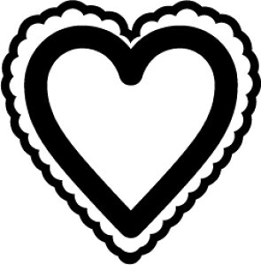 ゴム印/レーススタンプ 30×30mm/lace3030-003[模様/スタンプ/レース柄/定型 イラスト ゴム印/はんこ/ハンコ/判子/かわいい/可愛い/おしゃれ]