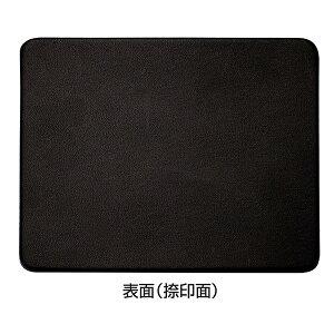 栃木レザー本革捺印マットサイズ:90×115mm色:黒[印マット/印鑑/はんこ]【RCP】