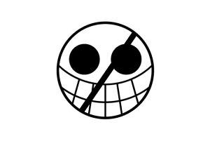 ゴルフボールスタンプ/ワンピース マイボールスタンプ/海賊旗シリーズ/ドフラミンゴver.[ONE PIECE/ボールスタンプ/イラスト スタンプ/印鑑/はんこ/ハンコ/判子/父の日/ギフト プレゼント/ゴル