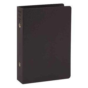システム手帳/保管用バインダー ポケットサイズ バインダー 2冊組 WPF401B リング径:20mm/カラー:ブラック[文房具/文具/ビジネス/おしゃれ/デザイン/ステーショナリー]