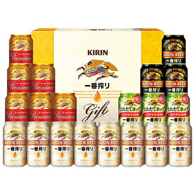 【お歳暮のし付】キリン 一番搾り4種飲み比べセット プレミアム・黒ビール・とれたてホップ入り K-IPFT5