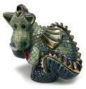 送料無料 ドラゴン 735陶器 置物 ドラゴン 龍 竜 辰 干支 十二支 dragon cat インテリア オブジェ 雑貨 動物 おしゃれ かわいい 贈り物…