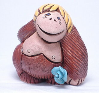 Rinconada pottery animal figurines 75 orangutans