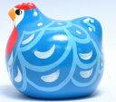 ブルーハンブルグ(青) 雌鶏(中)<鳥 鶏 トリ とり bird バード ニュージーランド製>