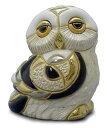 送料無料 白フクロウ子供 F335ふくろう フクロウ 梟 オウル 福 縁起物 幸せ 陶器 置物 動物 オブジェ おしゃれ かわいい 贈り物 プレゼ…