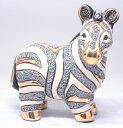 送料無料 シマウマ親 F124陶器 動物 置物 シマウマ 馬 午 ウマ うま 干支 十二支 zebra ペット インテリア オブジェ 雑貨 おしゃれ か…