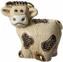 ミニ乳牛 MI17陶器 動物 置物 牛 丑 うし 2021干支 十二支 cow ox ブル bull バッファロー buffalo バイソン bison ペット インテリア …