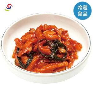 【ソウル市場】★冷蔵★干し大根のキムチ(辛口) 200g