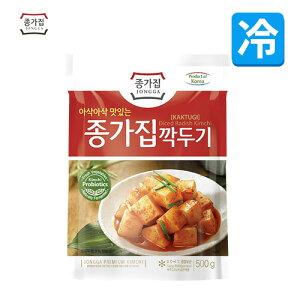 【宗家】 カクテギ(大根のキムチ) 500g (冷蔵)