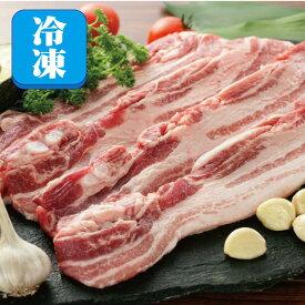 【冷凍】皮付き豚バラ・スライス