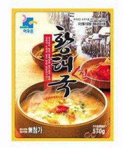 【ハウ村】 干しタラスープ 570g■韓国食品■韓国料理/韓国食材/韓国スープ/スープ
