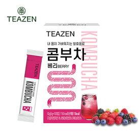 【TEAZEN】コンブチャ ベリー 粉末飲料 50g(5gX10本)