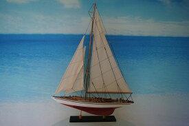 ヨット エンデヴァー Good Quality 赤/白 (M) 帆船模型(完成品)