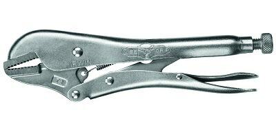 IRWIN ストレートジョー ロッキングプライヤー 10R 全長225mm 開口値0〜48mm T0102EL4 アーウィン クランプ バイス 作業工具