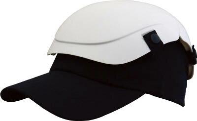 【即納】折りたたみ式 防災用セーフティ帽子 キャメット(白/ホワイト)TSCM-W フリーサイズ(53〜62cm)(防災用ヘルメット)地震 台風 防災 備蓄 軽作業 携帯 軽い 小さくたためてコンパクト!いざという時に頭を守る。スポーツキャップタイプ。安心・安全な保護能力。