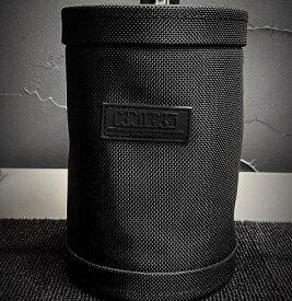 ニックス(KNICKS) BA-100DC セフ対応自立型バリスティック生地フリーカップ ダストカップ 小物入れ 腰袋 工具袋 道具袋