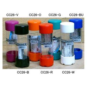 ニックス(KNICKS) CC26-B 多目的収納ケース VIEWTAINER(ビューテナー)φ5x15(ブラック) 釘 ネジ 小物入れペンケース