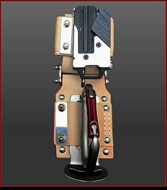 【在庫有り即納】ニックス(KNICKS) KN-3SE【茶色】チェーンタイプ金属セフ カラビナホルダーセット