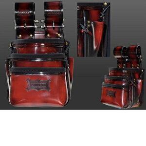 ニックス ガラス革腰袋【レッド】 ADV-301DDX-R 赤