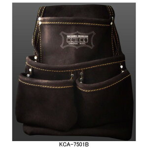 ニックス(KNICKS) KCA-7501B 2ポケット2x2工法用釘袋 工具袋 道具袋