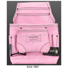 ニックス(KNICKS) KCA-7507 2x4工法用釘袋(ピンク) 工具袋 道具袋