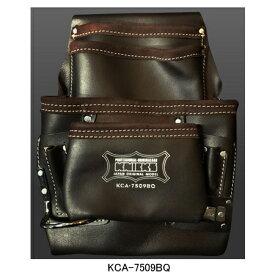 ニックス(KNICKS) KCA-7509BQ 最高級オイルレザー2x4工法用釘袋 工具袋 道具袋