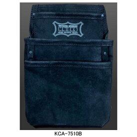 ニックス(KNICKS) KCA-7510B 3ポケット2x2工法用釘袋 工具袋 道具袋