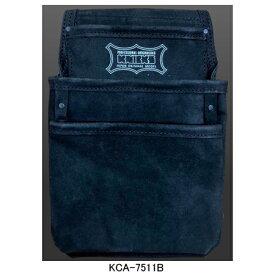 【在庫有り即納】ニックス(KNICKS) KCA-7511B 4ポケット2x2工法用釘袋 工具袋 道具袋